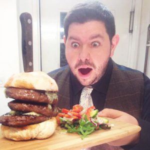 Big Stack Tyndale Steak Burger
